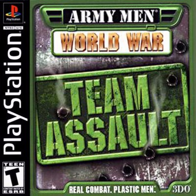Army Men: World War: Team Assault Cover Art