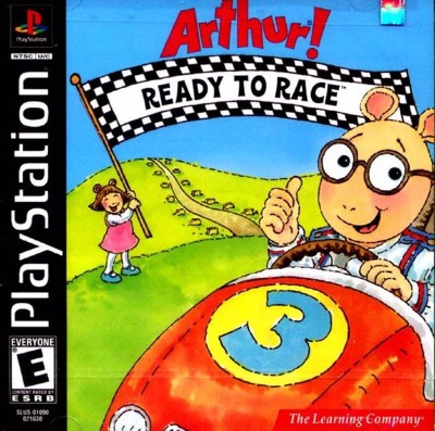 Arthur! Ready to Race Cover Art