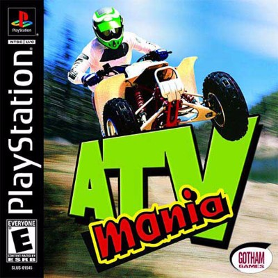 ATV Mania Cover Art