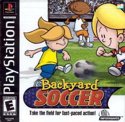Backyard Soccer Cover Art
