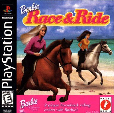 Barbie: Race and Ride Cover Art