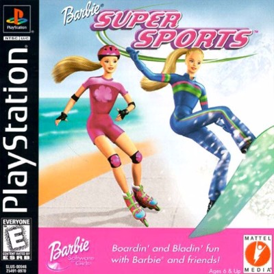 Barbie: Super Sports Cover Art