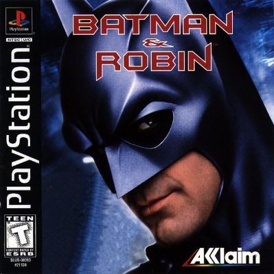 Batman & Robin Cover Art