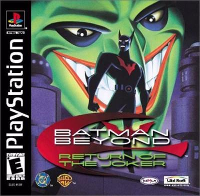 Batman Beyond: Return of the Joker Cover Art