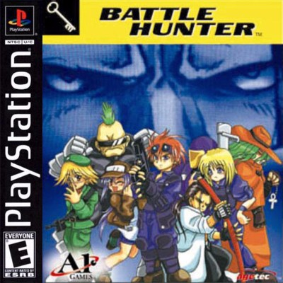 Battle Hunter Cover Art