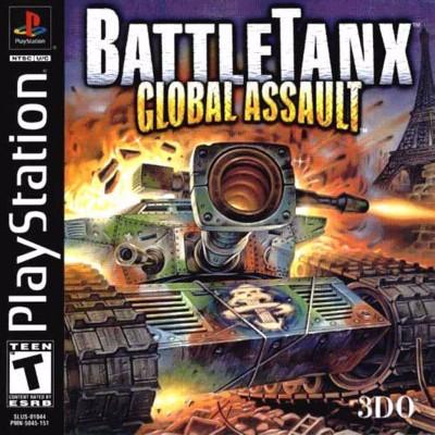 BattleTanx: Global Assault Cover Art