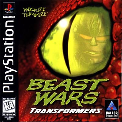 Beast Wars: Transformers Cover Art