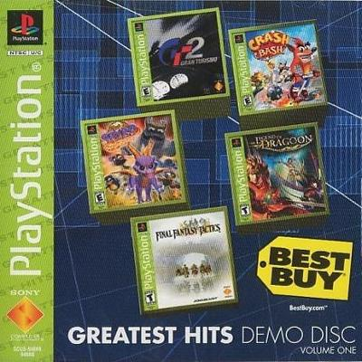 Best Buy: Greatest Hits Demo Disc Cover Art