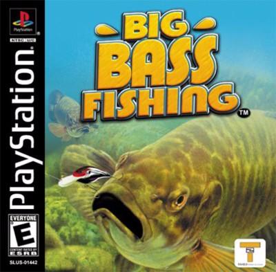 Big Bass Fishing Cover Art