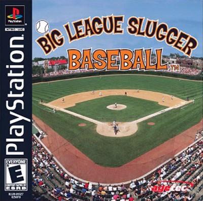 Big League Slugger Baseball Cover Art