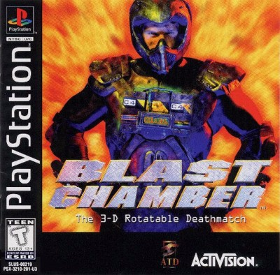 Blast Chamber Cover Art