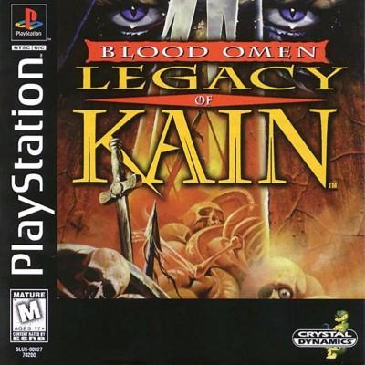 Blood Omen: Legacy of Kain Cover Art