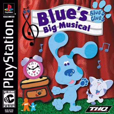 Blue's Clues: Blue's Big Musical Cover Art