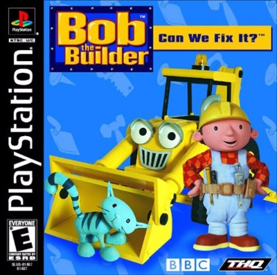 Bob the Builder: Can We Fix It Cover Art