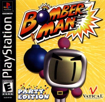 Bomberman Party Edition Cover Art
