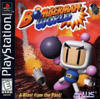 Bomberman World Cover Art