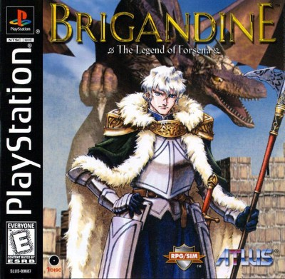 Brigandine: The Legend of Forsena Cover Art
