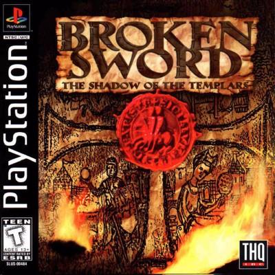 Broken Sword: The Shadow of the Templars Cover Art