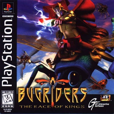 Bugriders: The Race of Kings Cover Art