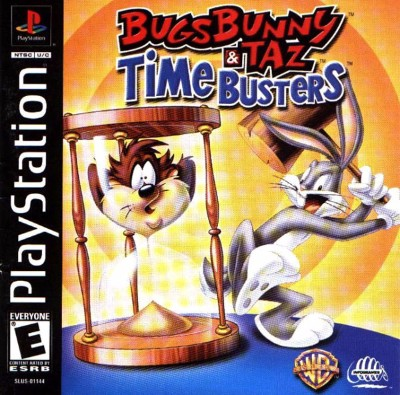 Bugs Bunny & Taz: Time Busters Cover Art