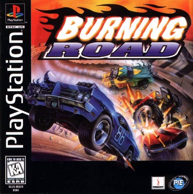Burning Road Cover Art