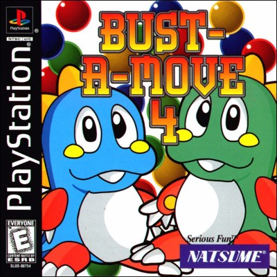 Bust-A-Move 4 Cover Art