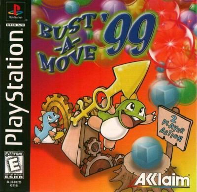 Bust-A-Move 99 Cover Art