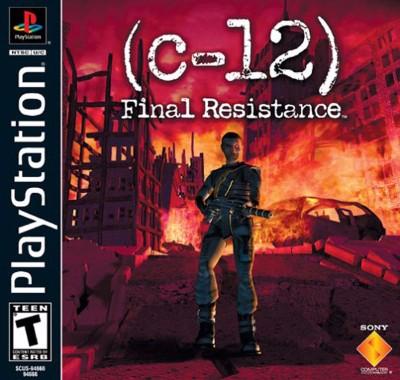 C-12: Final Resistance Cover Art