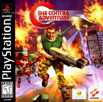 C: The Contra Adventure Cover Art