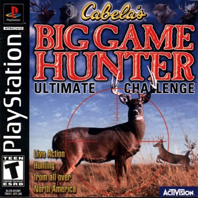Cabela's Big Game Hunter: Ultimate Challenge Cover Art
