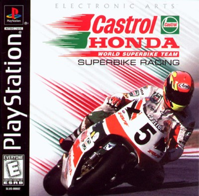 Castrol Honda Superbike Racing Cover Art