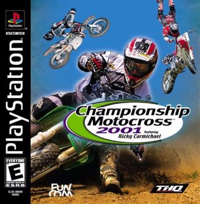 Championship Motocross 2001: Ricky Carmichael Cover Art