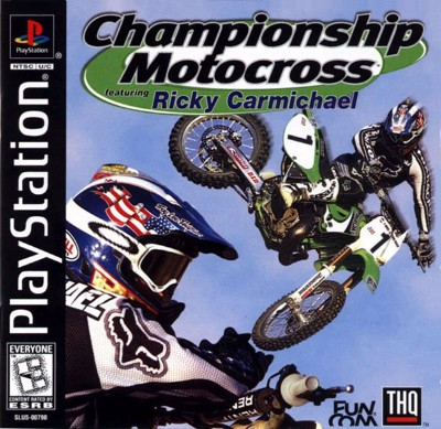 Championship Motocross: featuring Ricky Carmichael Cover Art