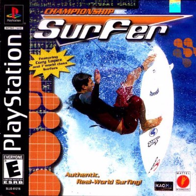 Championship Surfer Cover Art