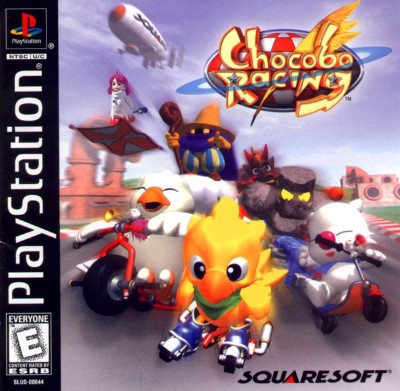 Chocobo Racing Cover Art