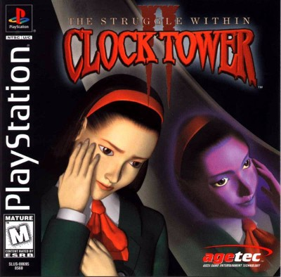 Clock Tower II: The Struggle Within Cover Art