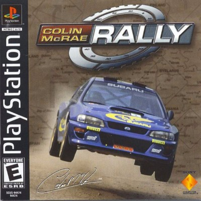 Colin McRae Rally Cover Art