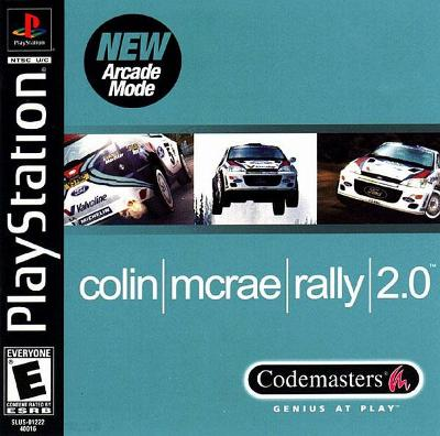Colin McRae Rally 2.0 Cover Art