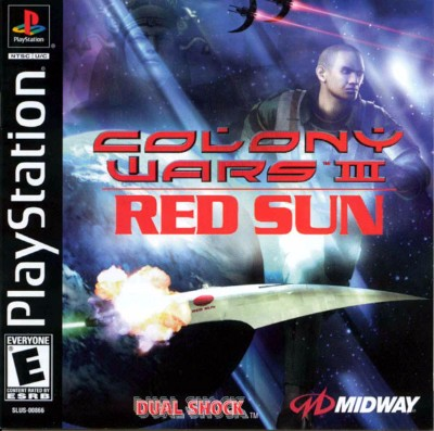 Colony Wars III: Red Sun Cover Art
