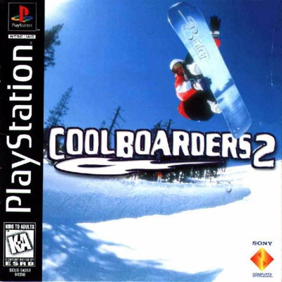 Cool Boarders 2 Cover Art