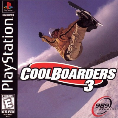 Cool Boarders 3 Cover Art