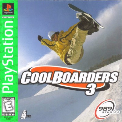 Cool Boarders 3 [Greatest Hits] Cover Art