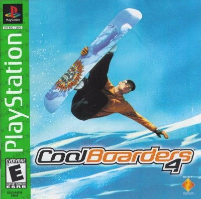 Cool Boarders 4 [Greatest Hits] Cover Art