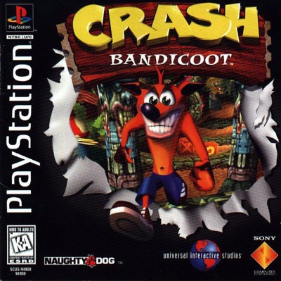 Crash Bandicoot Cover Art