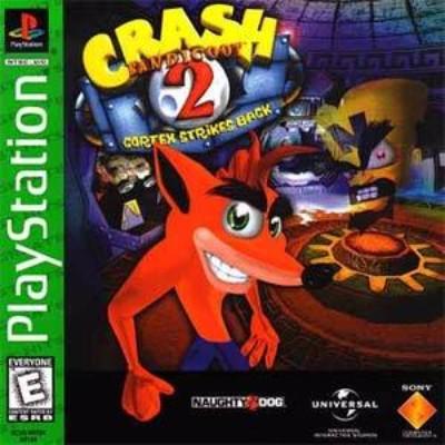 Crash Bandicoot 2: Cortex Strikes Back [Greatest Hits] Cover Art