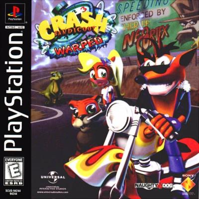 Crash Bandicoot 3: Warped Cover Art