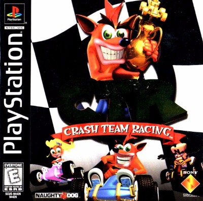 Crash Team Racing Cover Art