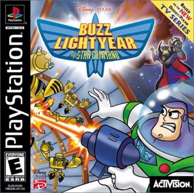 Buzz Lightyear of Star Command Cover Art