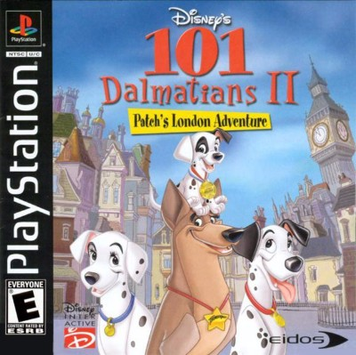 101 Dalmatians II: Patch's London Adventure Cover Art