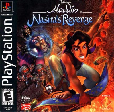 Aladdin: Nasiras Revenge Cover Art